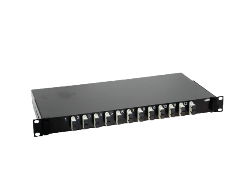 FIBER OPTIC PATCH PANELS  BUILD-IN SNAP-IN