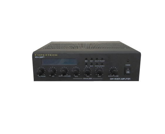 120W   2-ZONE Mixer Amplifier