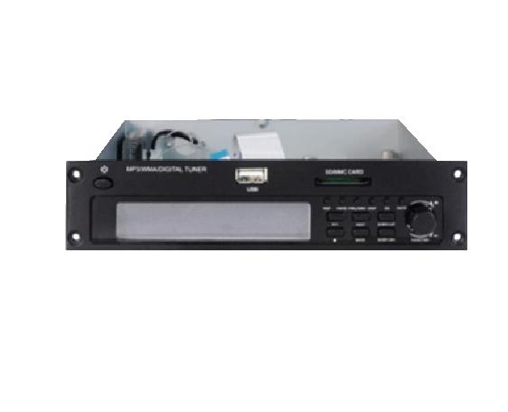 Plug in-Audio source  Tuner/MP3/USB/SD Module