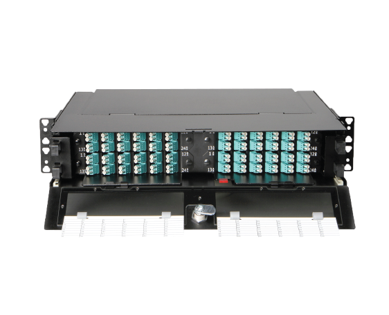 ANGLE LEFT/RIGHT FIBER PANEL (TFP FIBER PATCH PANELS)