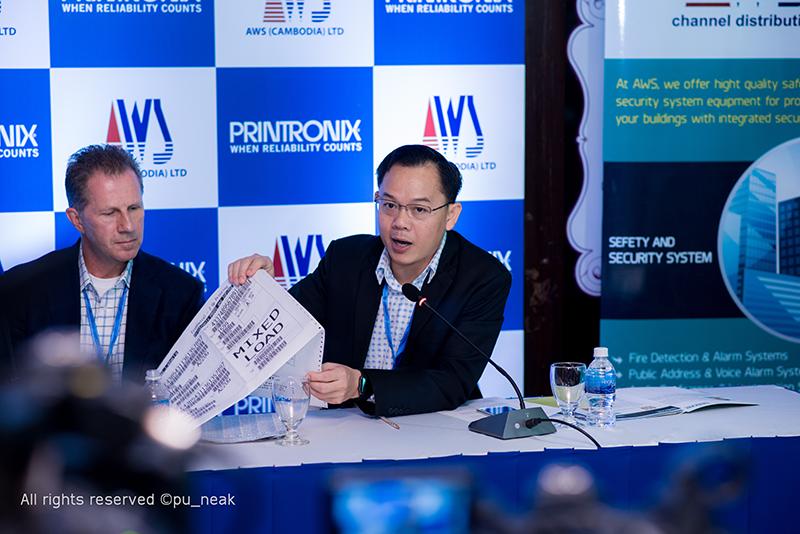 Printronix LLC និង AWS Cambodia បានចាប់ដៃគ្នានាំយកមកនូវបច្ចេកវិទ្យា Line Matrix Printer មកកាន់ប្រទេសកម្ពុជា