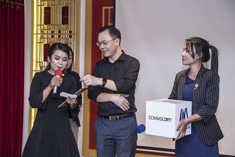 AWS Cambodia និង COMMSCOPE ចាប់ដៃគ្នារៀបចំកម្មវិធី COMMSCOPE ImVision Products Refreshment And Appreciation Dinner