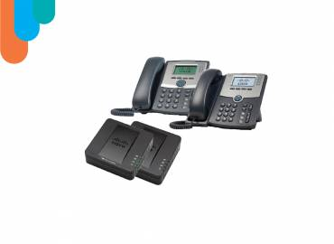 CISCO VoIP PHONES & ADAPTERS