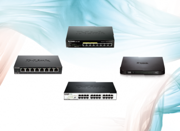 D-Link FAST ETHERNET SWITCHES