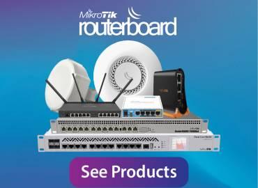 Mikrotik Ethernet routers