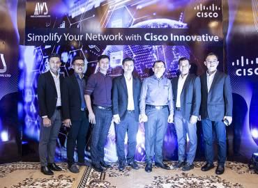 """ក្រុមហ៊ុន AWS Cambodia សហការជាមួយក្រុមហ៊ុន Cisco បានរៀបចំនូកម្មវិធី """"Simplify Your Network with Cisco Innovation"""""""