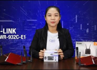 D-Link  DWR-932C-E1 Unboxing & Features Review